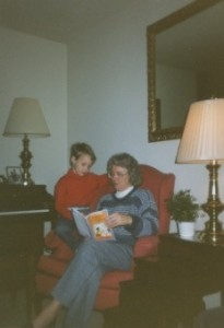 Reading to My Nephew When We Were Both Younger