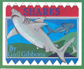 Cover, Sharks, by Gail Gibbons
