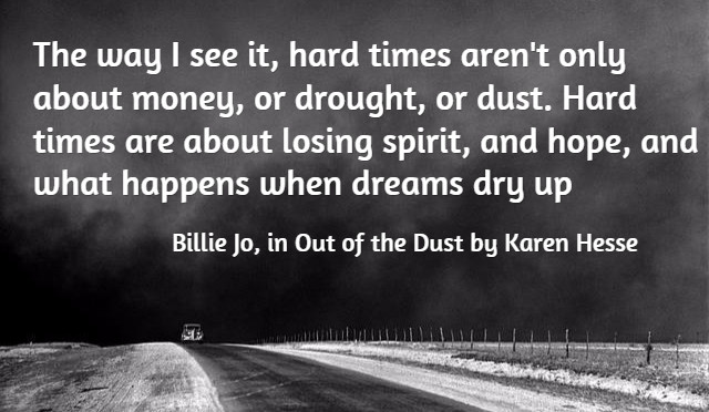 Quote from Out of the Dust