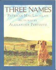 Review of Three Names by Patricia MacLachlan