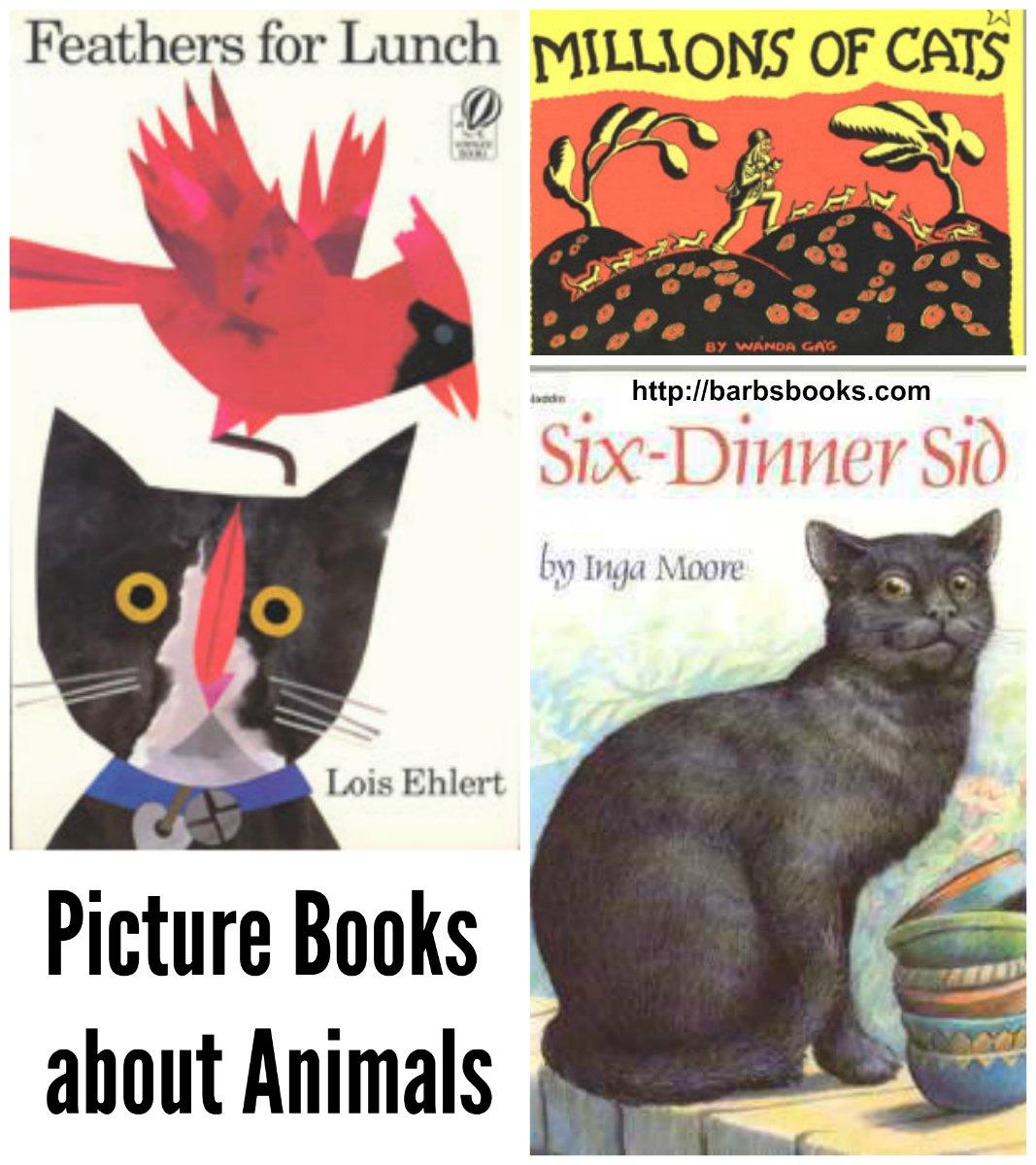 Cat Picture Books Collage