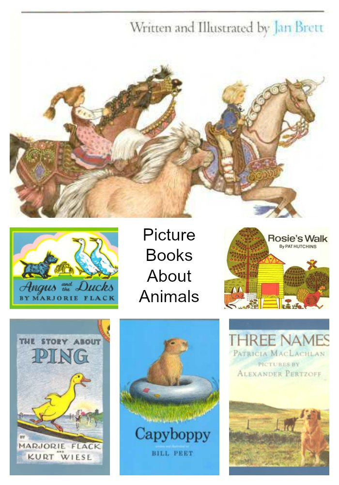 Picture Books About Animals