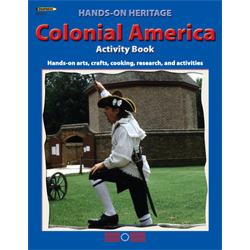 Colonial American Activity Book, Revised 1998