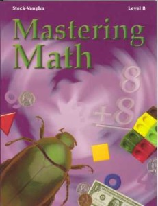 Review of Steck-Vaughn Mastering Math
