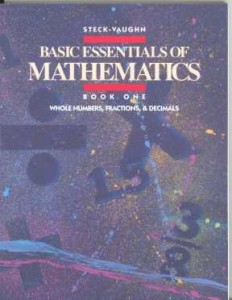 Basic Essentials of Mathematics, Book 1