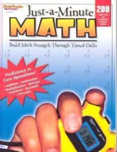 Review of Just-a-Minute Math