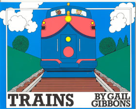 Review of Gail Gibbons' Trains