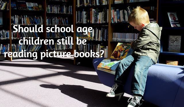 When Should Children Stop Reading Picture Books?
